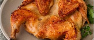 """Чем отличается """"цыпленок табака"""" от обычного фермерского цыпленка для жарки"""
